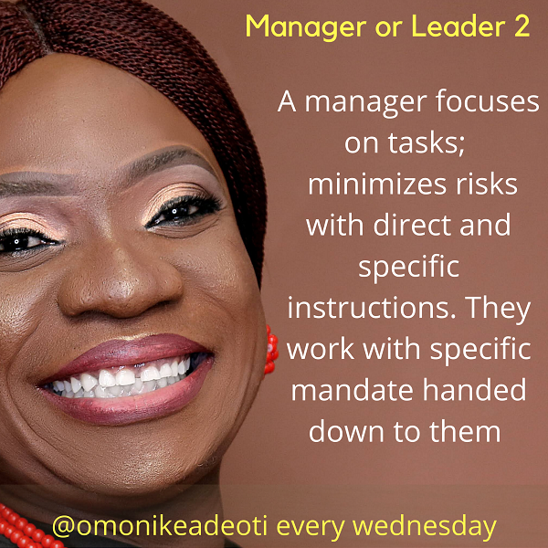 Managers focus on task and minimize risks