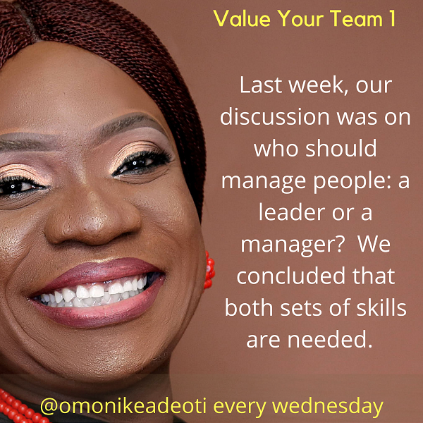 Value your Team