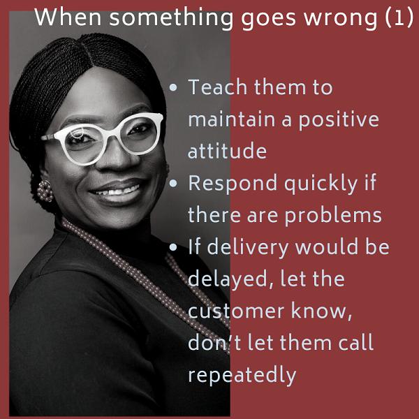 Teach them to maintain a positive attitude