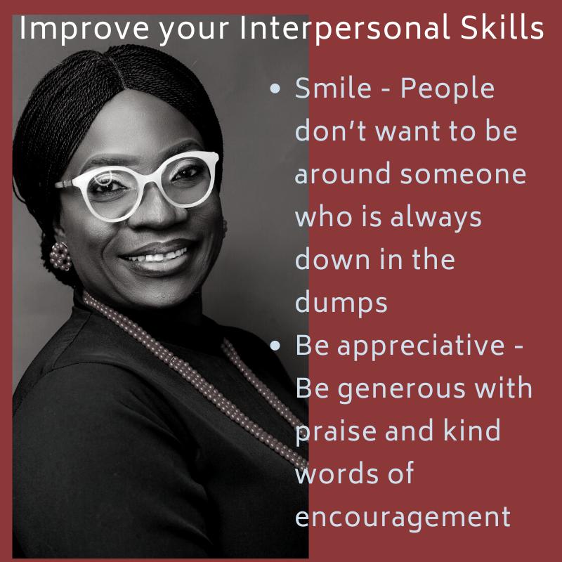 Smile, People Management, SME, Interpersonal skills