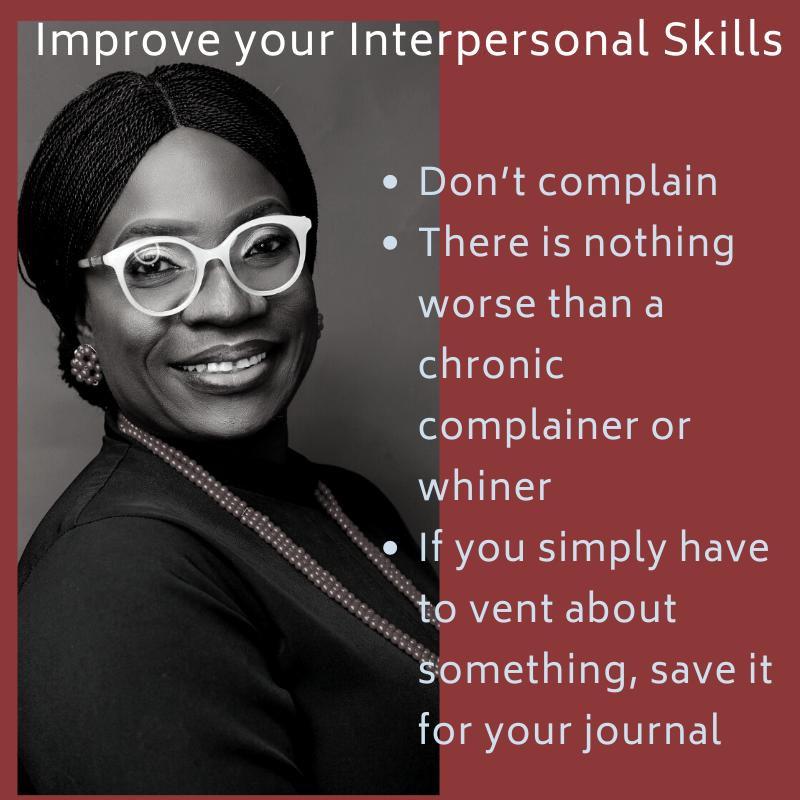 Interpersonal Skills, People Management